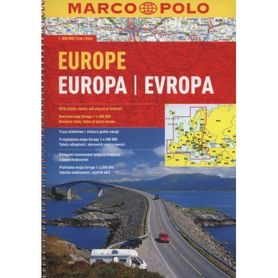EUROPA atlas drogowy 1:800 000 MARCO POLO