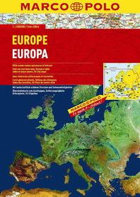 EUROPA atlas samochodowy 1:2 000 000 MARCO POLO