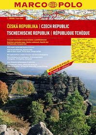 CZECHY atlas samochodowy 1:200 000 MARCO POLO