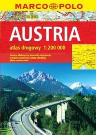 AUSTRIA atlas samochodowy 1:200 000 MARCO POLO