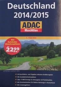 NIEMCY DEUTSCHLAND MAXIATLAS ADAC 2014/2015