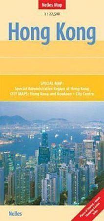 HONG KONG mapa samochodowa 1:22 500 Nelles