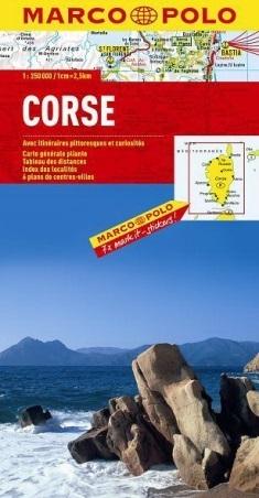 KORSYKA CORSICA mapa samochodowa 1:250 000 MARCO POLO