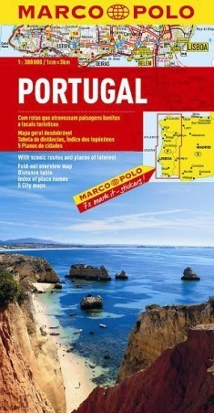 PORTUGALIA mapa samochodowa 1:300 000 MARCO POLO