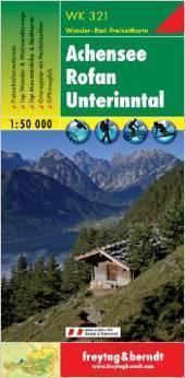 ACHENSEE ROFAN UNTERINNTAL mapa turystyczna 1:50 000 FREYTAG & BERNDT
