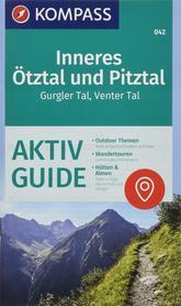 WEWNĘTRZNE ALPY OETZTALSKIE PITZTAL mapa turystyczna 1:25 000 KOMPASS
