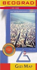 BELGRAD plan miasta 1:20 000 GIZIMAP