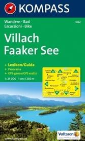 VILLACH - FAAKER SEE mapa turystyczna 1:25 000 KOMPASS