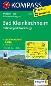 BAD KLEINKIRCHHEIM wodoodporna mapa turystyczna 1:25 000 KOMPASS