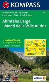 AHRNTALER BERGE mapa turystyczna 1:25 000 KOMPASS