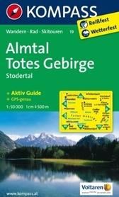 ALMTAL - TOTES GEBIRGE wodoodporna mapa turystyczna 1:50 000 KOMPASS