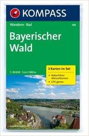 BAYERISCHER WALD wodoodporna mapa turystyczna 1:50 000 KOMPASS
