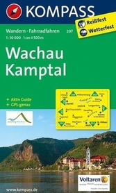WACHAU - KAMPTAL wodoodporna mapa turystyczna 1:50 000 KOMPASS