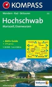 HOCHSCHWAB MARIAZELL mapa turystyczna 1:50 000 KOMPASS