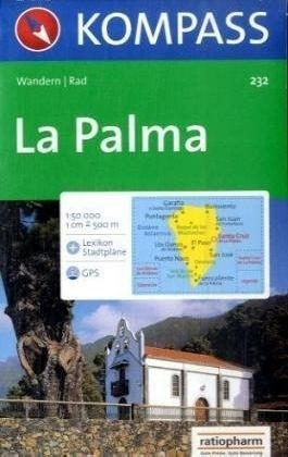LA PALMA mapa turystyczna 1:50 000 KOMPASS