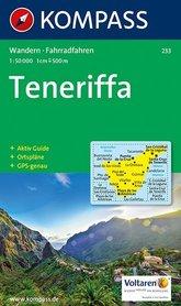 TENERYFA TENERIFE mapa turystyczna 1:50 000 KOMPASS 2017