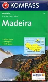 MADERA wodoodporna mapa turystyczna 1:50 000 KOMPASS