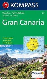 GRAN CANARIA mapa turystyczna 1:50 000 KOMPASS