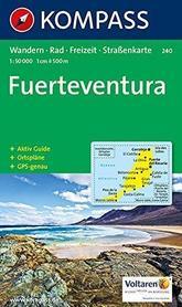 FUERTEVENTURA mapa turystyczna 1:50 000 KOMPASS
