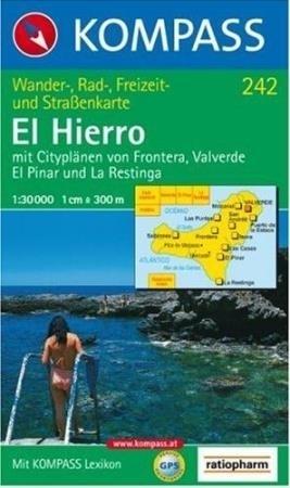 EL HIERRO / EL HIERRO mapa turystyczna 1:30 000 KOMPASS