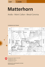1347 MATTERHORN mapa topograficzna 1:25 000 SWISSTOPO