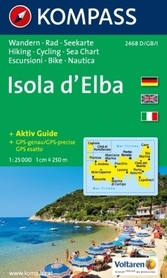 ELBA wodoodporna mapa turystyczna 1:25 000 KOMPASS