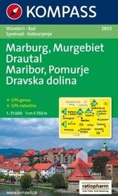 MARIBOR - POMRJE - DRAVSKA DOLINA wodoodporna mapa turystyczna 1:75 000 KOMPASS