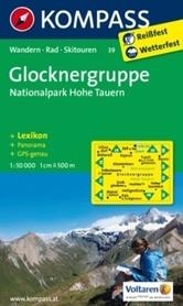 GLOCKNERGRUPPE wodoodporna mapa turystyczna 1:50 000 KOMPASS