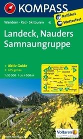 LANDECK mapa turystyczna 1:50 000 KOMPASS