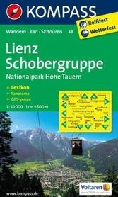 LIENZ - SCHOBERGRUPPE mapa turystyczna 1:50 000 KOMPASS