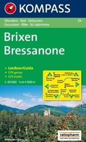 BRIXEN / BRESSANONE mapa turystyczna 1:50 000 KOMPASS