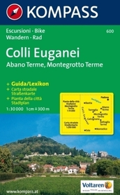 COLLI EUGANEI mapa turystyczna 1:30 000 KOMPASS