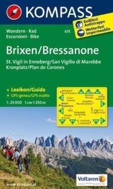 BRIXEN / BRESSANONE mapa turystyczna 1:25 000 KOMPASS