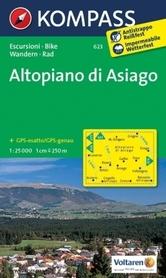 ALTIPLANO DI ASIAGO wodoodporna mapa turystyczna 1:25 000 KOMPASS