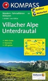 VILLACHER ALPE wodoodporna mapa turystyczna 1:25 000 KOMPASS