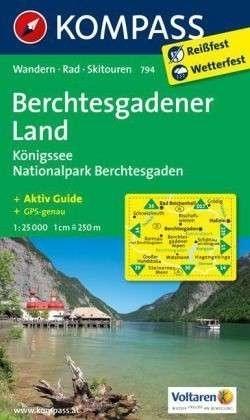 BERCHTESGADENER LAND mapa turystyczna 1:25 000 KOMPASS