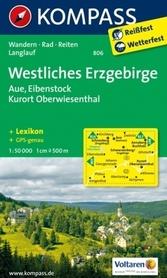 ERZGEBIRGE WESTLICHES wodoodporna mapa turystyczna 1:50 000 KOMPASS