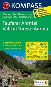 TAUFERS - AHRNTAL wodoodporna mapa turystyczna 1:50 000 KOMPASS