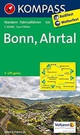 BONN - AHRTAL wodoodporna mapa turystyczna 1:10 000 KOMPASS