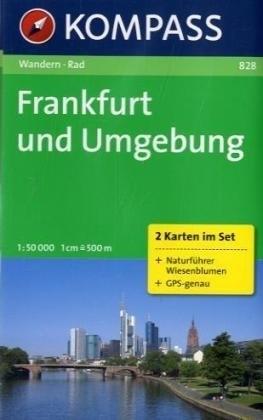 FRANKFURT I OKOLICE mapa turystyczna 1:50 000 KOMPASS