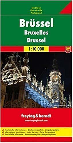 BRUKSELA plan miasta 1:10 000 FREYTAG & BERNDT