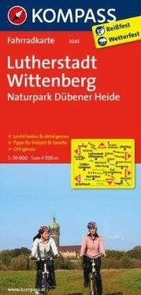 WITTENBERGA - NP DUBENER HEIDE wodoodporna mapa turystyczna 1:70 000 KOMPASS