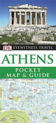ATENY Pocket Map and Guide - przewodnik i mapa DK