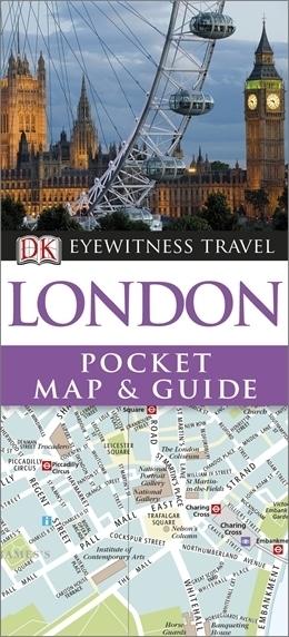 LONDYN Pocket Map and Guide - przewodnik i mapa DK