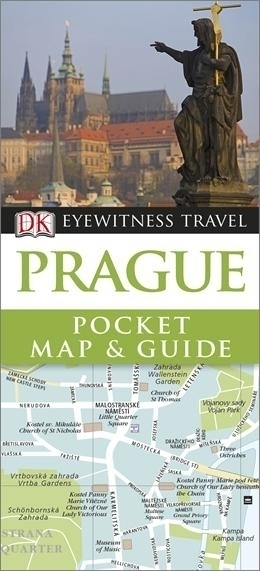 PRAGA Pocket Map and Guide - przewodnik i mapa DK