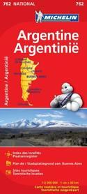 ARGENTYNA mapa samochodowa 1:2 000 000 MICHELIN