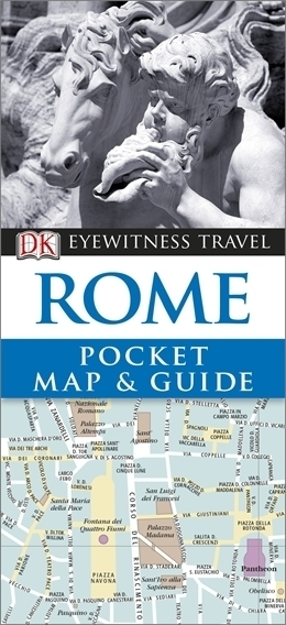 RZYM Pocket Map and Guide - przewodnik i mapa DK