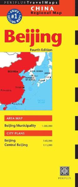 PEKIN BEIJING mapa PERIPLUS