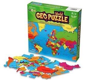 ŚWIAT puzzle GEOTOYS