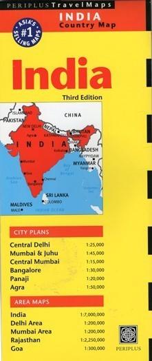 INDIE INDIA mapa PERIPLUS